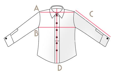 Misure Camicia
