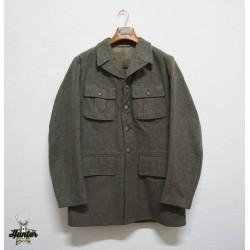 Giacca Lana Militare Esercito Svedese Vintage