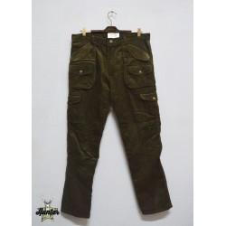 Pantaloni Da Caccia in Velluto Foderato CTB