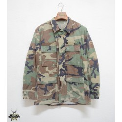American Army BDU Woodland Military Jacket Shirt