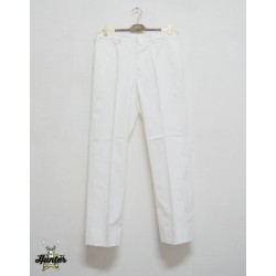 White Italian Navy Pants