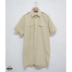 Camicia Militare da Ufficio Esercito Inglese Maniche Corte