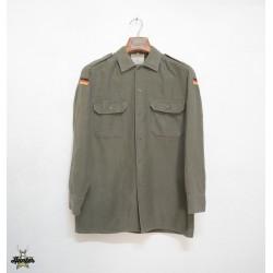 Camicia Militare Esercito Tedesco con Bandierine Usata