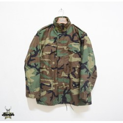 Field Jacket M65 Militare Americano Originale U.S. Army Woodland