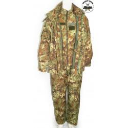 Completo Militare Esercito Italiano Goretex Vegetato