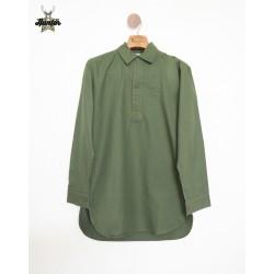 Camicia in Cotone Militare Originale Esercito Svedese Vintage M59