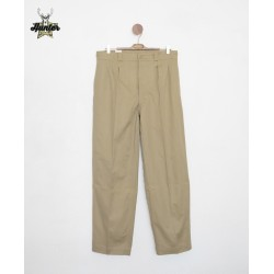 French Army Khaki Bermuda Shorts
