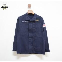 Royal Navy English Navy Shirt Jacket