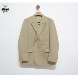 Classic Double Breasted German Navy Jacket