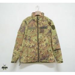 Inner Jacket Wind Stopper Vegetated Military Italian Army Original