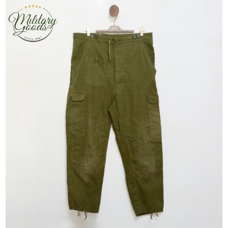 Pantaloni Militari Esercito Danese Cargo Verdi