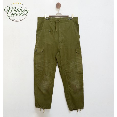 Green Danish Army Cargo Military Pants