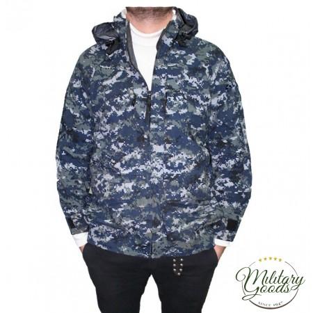 Parka Giacca Militare Esercito Americano Goretex U.S. Navy Working Uniform NWU