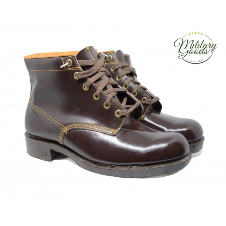 Leather Dutch Army Military Boots Shoes