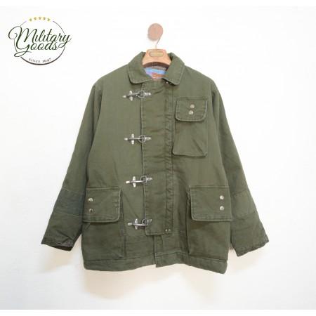 Vintage American Firefighter 4 Hooks Jacket Green