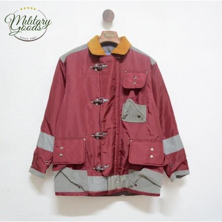 Vintage American Firefighter 4 Hooks Jacket