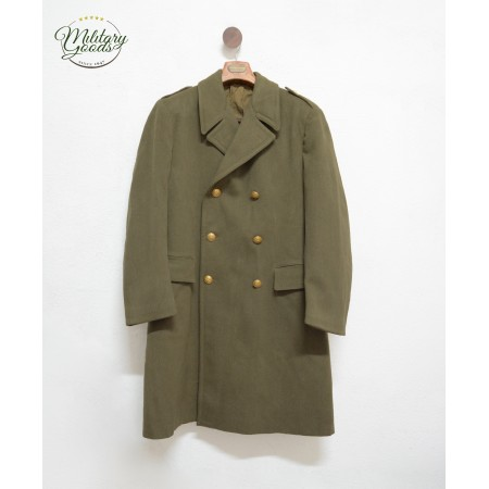 Double-Breasted Overcoat Military Italian Army