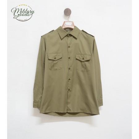 Italian Army Vintage 80s Military Shirt