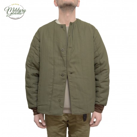 Vintage Czech Republic Army Military Padded Liner Jacket