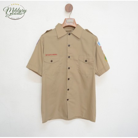 New Dead Stock Product Khaki color product Central closure with buttons 2 Front Pockets Original product BOY SCOUT OF AMERICA Ma