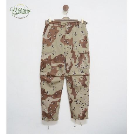 Pantaloni U.S Army Esercito Americano BDU Desert Chocolate