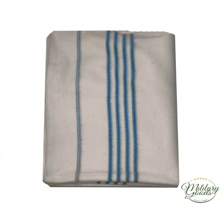 Military Blanket in Pure Wool 200 x 290 1 Square and Half Horses Riding