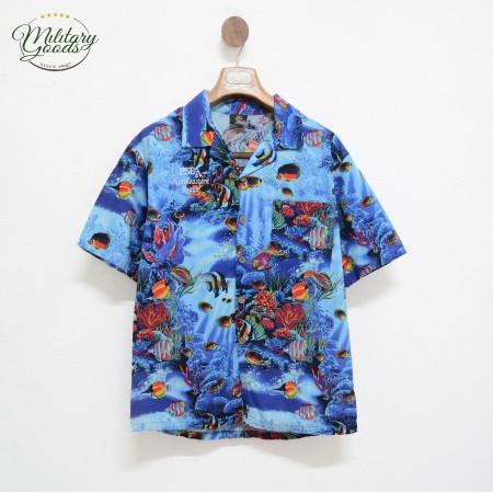 Vintage Hawaiian Shirt made in USA Size M
