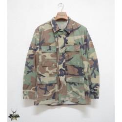 Camicia Militare Americana BDU Woodland