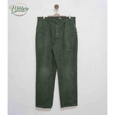 Vintage Swedish Army Military Work Pants