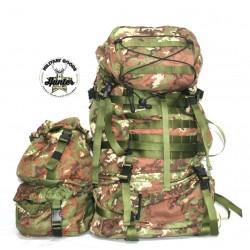 Zaino Vegetato Militare TBL 90 Litri Esercito Italiano