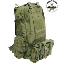 "Zaino Militare Tattico Incursore ""Defense"" 4 in 1"