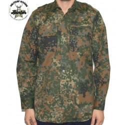Camicia Militare Tedesca Flecktarn