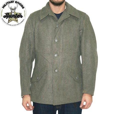 reputable site c0d1d a5104 Giacca Lana Militare Esercito Svedese Vintage