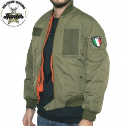 Italian Air Force Flight Bomber Jacket L2B