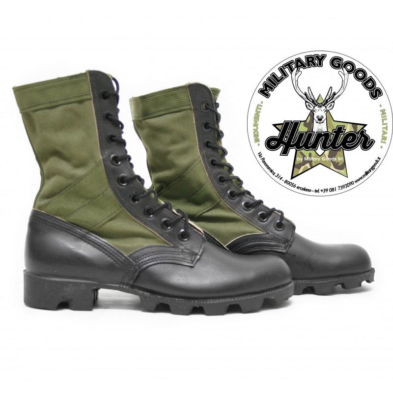 Anfibio militare U.S.A. vintage nero