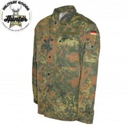 Camicia Militare Esercito Tedesco Flecktarn