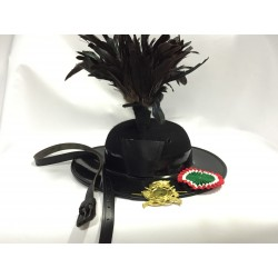 Cappello bersaglieri completo
