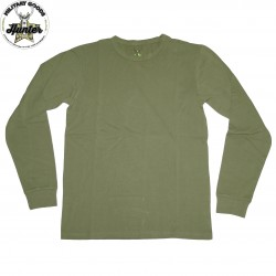T-Shirt Militare Maniche Lunghe