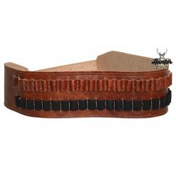 Cintura Cartucciera Caccia Cinghiale Carabina 30 Celle
