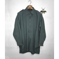 Camicia Casacca Militare Esercito Svizzero Modello Grandpa