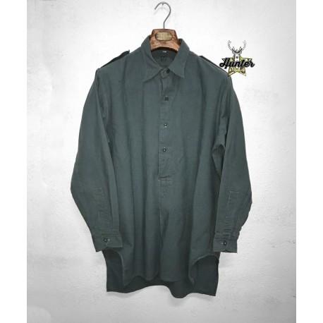 Camicia Casacca Militare Esercito Svizzero Modello Grandpa