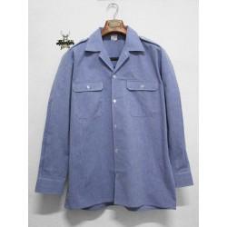Camicia da Lavoro Militare Esercito Francese Chambray Maschile
