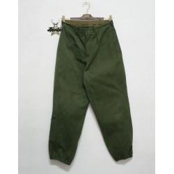 Pantaloni Da Lavoro Militare Esercito Ungherese Vintage