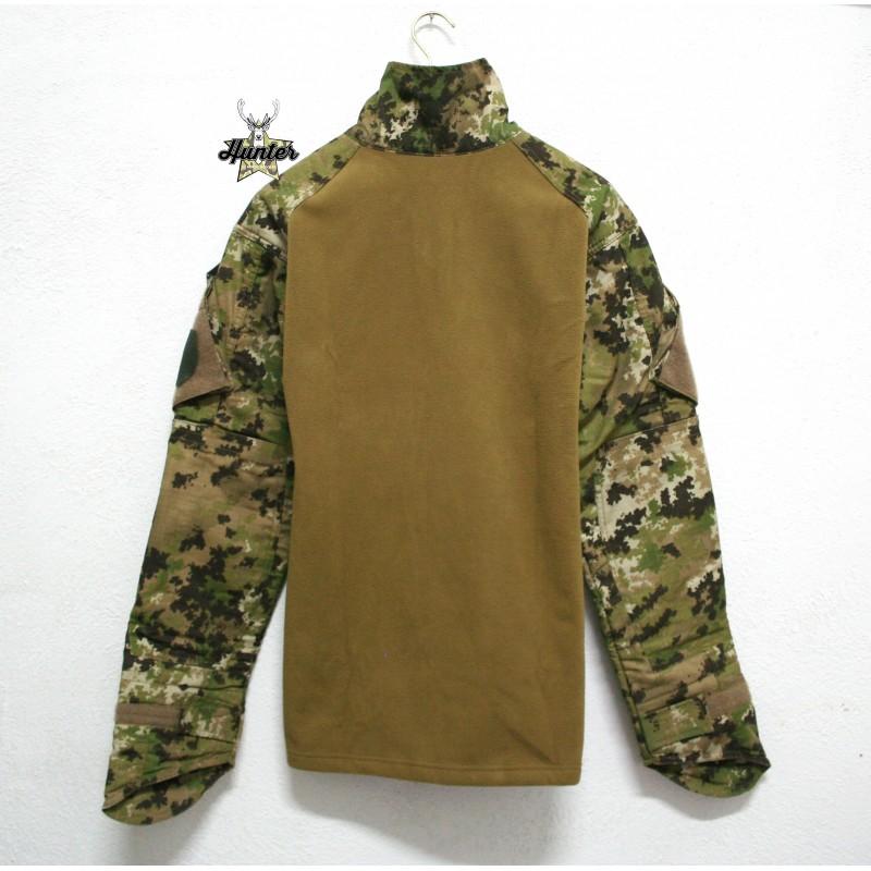 Felpa Pile Combat Shirt Multiland Defcon5 - Military Goods S.r.l 767ef70f2f79