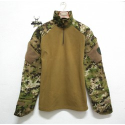 Felpa Pile Combat Shirt Multiland Defcon5
