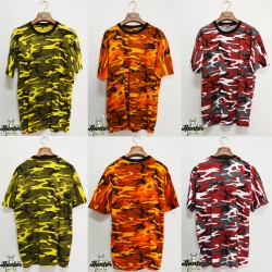 T-Shirt Militare Camouflage Colors